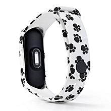 Fashion Pattern TPU Smart Wrist Watch Strap for XiaoMi Mi Band 3 B