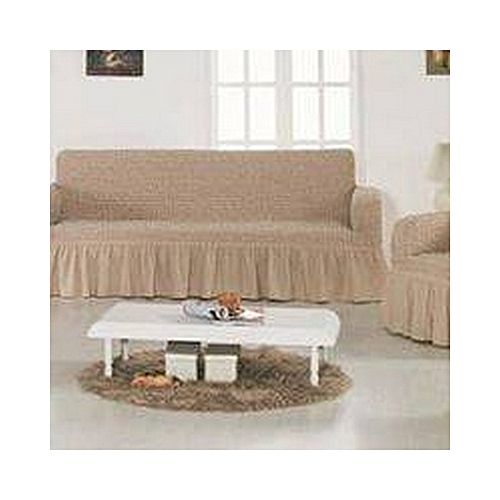 Superieur Sofa Seat Covers  3+2+1+1  Coffee In Milk