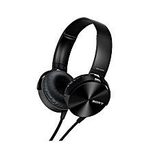 Bass Booster Headphones - Black
