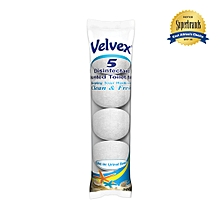 Disinfectant Scented White Toilet Balls -5 Balls