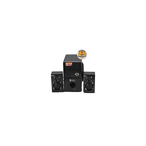 SHT 1092 AC/DC- 2.1 Ch Subwoofer 6000W PMPO -USB/FM-Black
