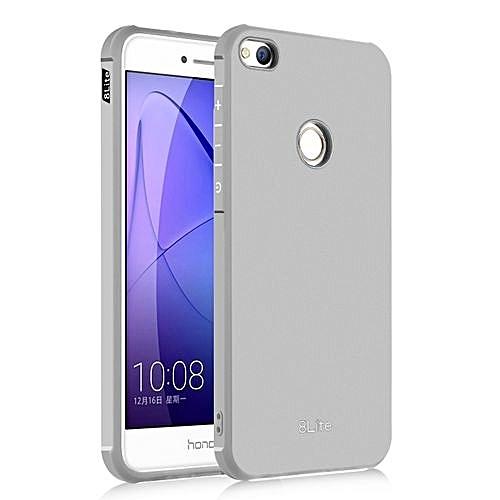 official photos 6b36c f6e9f Huawei Honor 8 Lite/Huawei Nova Lite Silicon Case Matte TPU Cover - Gray