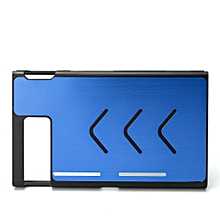 Aluminum Hard Case Cover Skin Shell Protective For Nintendo Switch Game Console Dark Blue
