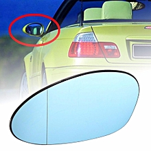 Left Passenger Side Wing Mirror Blue Tinted Glass For BMW 3 Series M3 E46 2001-2006
