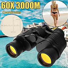 Optical Telescope Night Vision Binoculars 60X 60 High Clarity 3000M