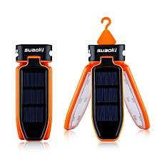 SB-6039 - Solar Panel Foldable LED Lartern - Orange [CQ]