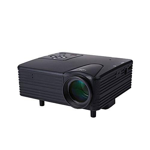 Mini 1080p Full Hd Led Projector Home Theater Cinema 3d: Mini LED Projector 640*480 Full HD 1080P EU