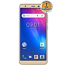 "S1 Pro - 5.5"" - 16GB - 1GB RAM (13MP+5MP) Dual Camera - Dual Sim - 4G - Gold"