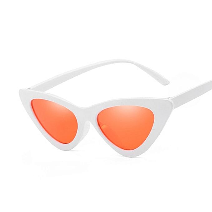 315f02182b2 Sexy Cat Eye Sunglasses Women Brand Designer Mirror Black Triangle Sun Glasses  Female Lens Shades for