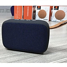 Desktop Wireless Bluetooth Stereo Speaker with MicroSD Slot/ Flashdisk and Radio - Blue