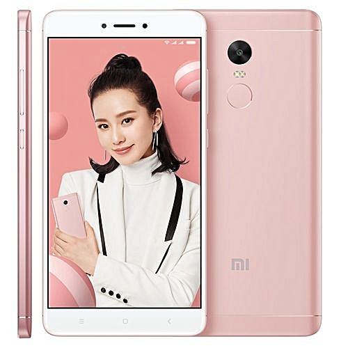 Redmi Note 4X 3GB+16GB 5.5 Inch MIUI 8.0 Qualcomm Snapdragon 625 Octa Core 2.0GHz Dual SIM 4G Smartphone(Cherry Pink)