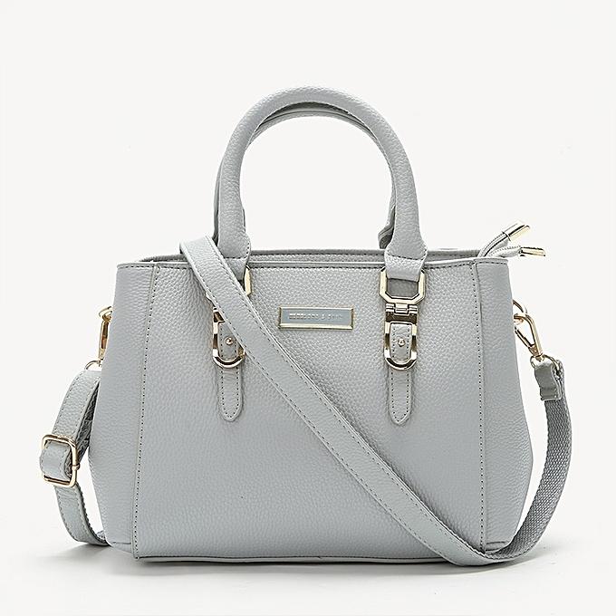 Light Grey Las Bag 2018 New European And American Handbags Fashion Red Wedding