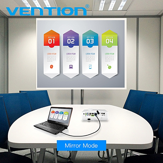 vention 5 meter 1080p hd vga male to vga male extension line 15-pin  cable