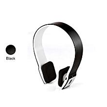 Headphone HandsFree Stereo Audio Bluetooth Headset Bluetooth Sports Wireless High Quality Headphones S460 - Black