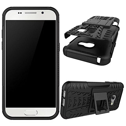 best loved 7c172 2d556 For Samsung Galaxy A3 2017 , PC+TPU 2 In 1 Hybrid Combo Armor Rugged Hard  Cover Sheild Shockproof Case With Kickstand Phone Housing For Samsung A3 ...