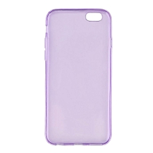 CO New Quality Ultra-thin Transparent TPU Mobile Phone Shell for iPhone6/6s-purple