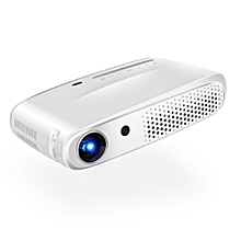 Rigal RD602 DLP Mini 3D Projector 600ANSI Lumens Android WiFi Projector Active Shutter 3D Full HD