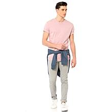 Pink Standard Male T-Shirt
