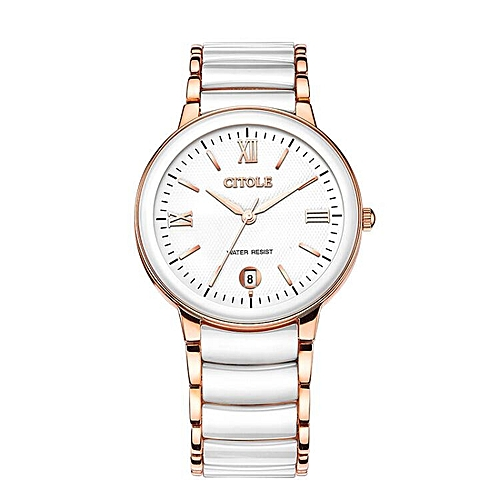 Buy Louis will Bontek electronic CITOLE watches the Ms. ceramic quartz watch retro bijou thin men diamond couple a pair of authentic watch waterproof 8066 ...