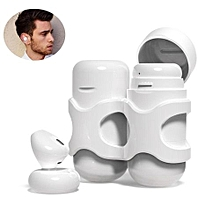 Wireless Earbuds, X11 Bluetooth Earphones In-Ear Headset With Mic and Dual-charging Box Stereo Sweatproof Headphone - White