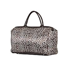 Cream & Brown Travelling Bag