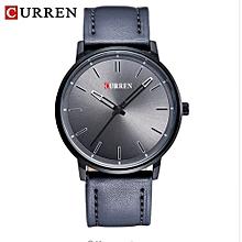 Men Watches 2017 Top Selling Fashion Male Clock Rose Gold Quartz Watch Men Business Wristwatch Relogio Masculino