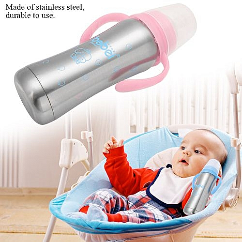 abf24e90e Generic Multifunctional Stainless Steel Baby Insulation Bottle Infant  Feeding Cup