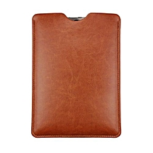 7 Inch Universal Leather Simple Leather Case Cover For Tablet PC Brown