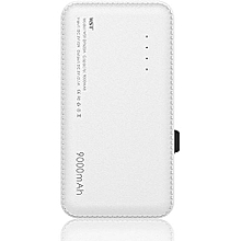 9000mAh Real Capacity Powerbank (White)