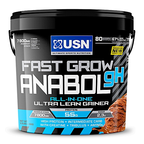 Fast Grow Anabolic - 4kg (8.8 lbs) - Chocolate