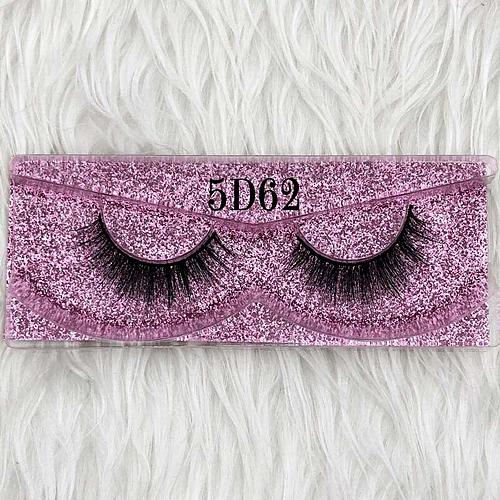 255a43540b4 Generic Mikiwi 25mm Long 5D mink lashes long lasting mink eyelashes Big  dramatic volumn eyelashes strip individual 3d false eyelash(C 0.15mm)