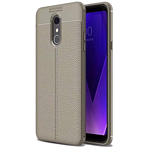 check out 048e2 d22c6 LG Stylo 4 Case, LG Q Stylus Case, LG Stylo 4 Plus Case, [Full Body Leather  Cover] [Anti-Slip] [Shock Absorption] Luxury Lightweight & Slim 360 ...