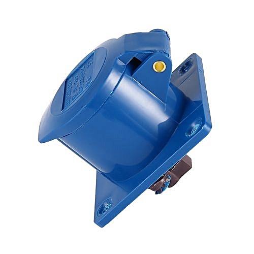 Buy Allwin Blue 240V 16 Amp 3 PIN Industrial Plug & Wall Socket ...