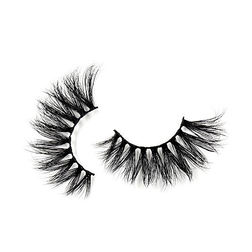 241d15b424e Generic Eyelashes 3D Mink False EyeLuxury Large Criss-cross False Eyelashes  25mm Hand Made Fluffy Dramatic Lashes Makeup(G11)