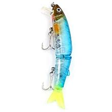 DW42 113mm Trulinoya Hard Fishing Lure Artificial Baits With Hook Fishing Gear-ICE BLUE