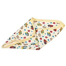 Child Changing Pad Waterproof Cotton Diaper Changing Mat (Car L)