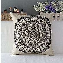 6475b72e93c Vintage Floral Cotton Linen Throw Pillow Case Cover Bed Sofa Cushion Home  Decor