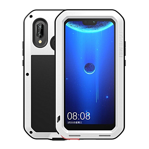 reputable site e5329 76339 Huawei P20 Lite Waterproof Case, Shockproof Snowproof Dustproof Durable  Aluminum Metal Heavy Duty Full-body Protection Case Cover for Huawei P20  Lite