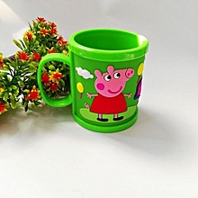 Cartoon Peppa Pig Brushing Cup George Tooth Brush Cup Water Cups -Green