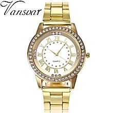 Fashion Casual Genuine Leather Quartz Movement Watch Women Dress Sports Brand Bracelet Watch