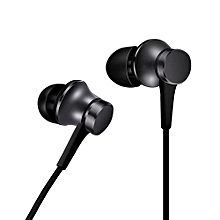 Piston In-Ear Stereo Earphone With Wire Control + Mic, Support Answering And Rejecting Call, For Samsung, HTC, Sony, Xiaomi, Huawei And Other Smart Phones(Black)