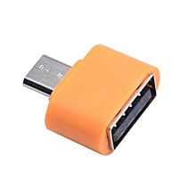 Micro USB To USB OTG Mini Adapter Converter For Android SmartPhone OR
