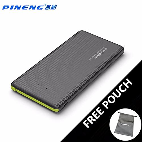 (FREE POUCH BAG) PINENG PN-951 PN951 10000MAH POWER BANK (BLACK) BGmall