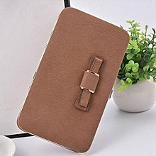 Phone Purse Wallet -Brown