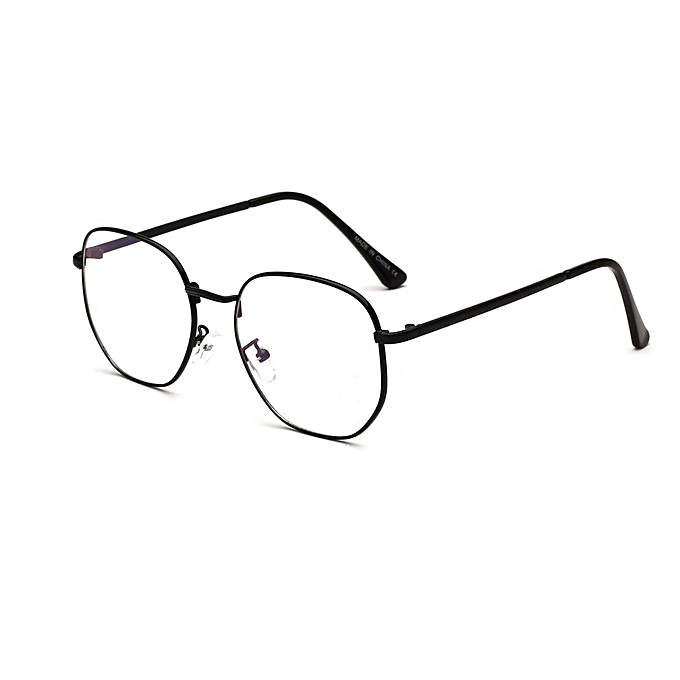 67a2c40b51 Generic Fashion Women Myopic Glasses Frame Simple Oversize Metal ...