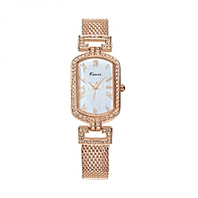 Exclusive Gold Ladies Wrist Watch + Free Gift Box