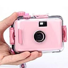 Underwater Waterproof Mini 35mm Film Camera Purple -Pink
