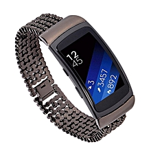 Stainless Steel Watch Band Accessory Band Bracelet For Samsung Gear Fit2 Pro