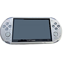 OR 5.0 Inch Large Screen 8GB Game Console Handheld Player MP3-white
