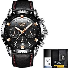 Men Watch Sport Quartz Luxury Full Steel Business Waterproof